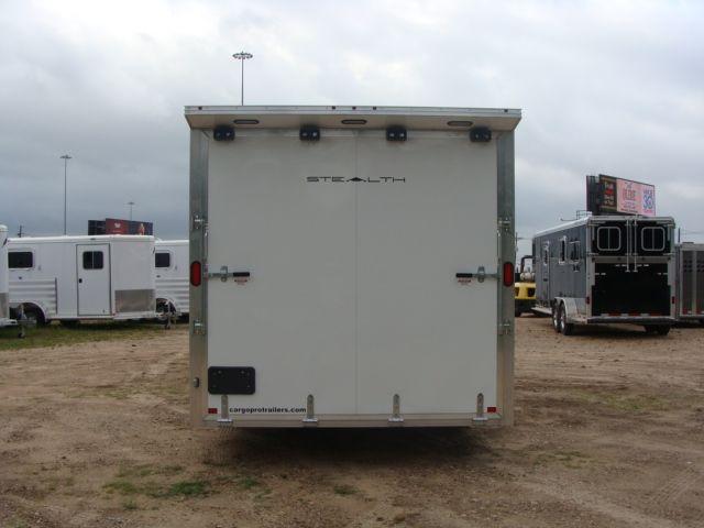 2019 Cargo Pro Stealth 24' Enclosed Car Trailer CONROE, TX 14