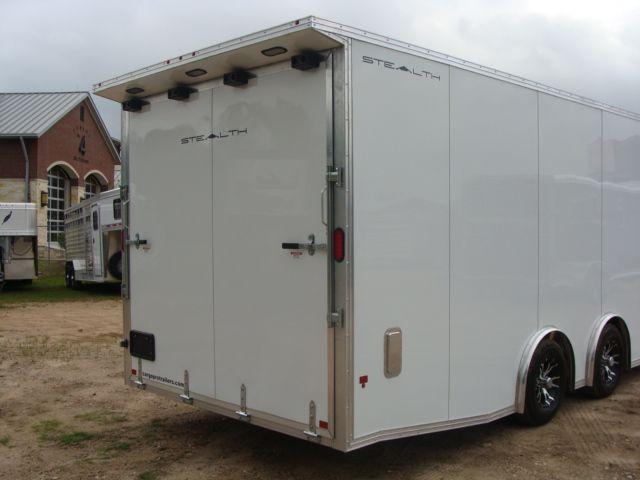 2019 Cargo Pro Stealth 24' Enclosed Car Trailer CONROE, TX 29
