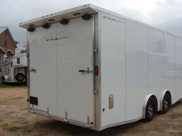 2019 Cargo Pro Stealth 24' Enclosed Car Trailer CONROE, TX 31