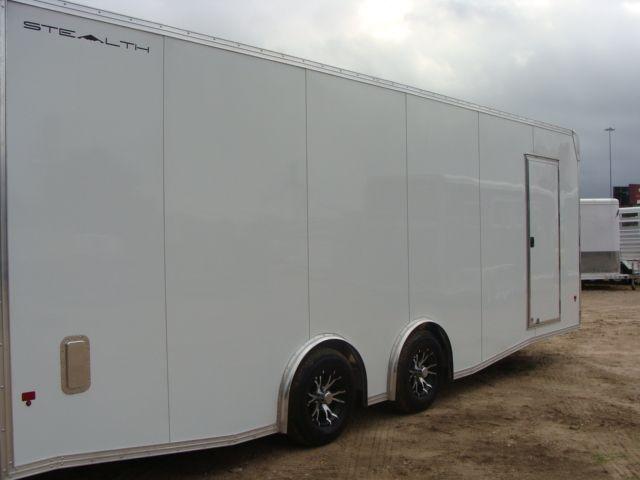 2019 Cargo Pro Stealth 24' Enclosed Car Trailer CONROE, TX 32