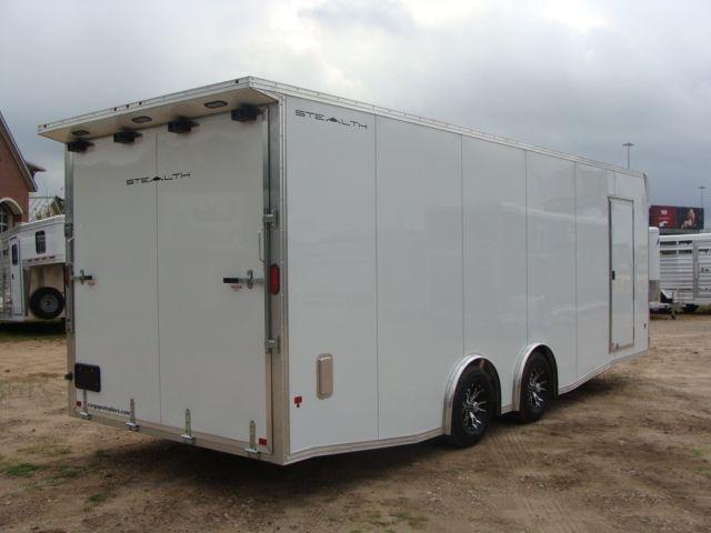 2019 Cargo Pro Stealth 24' Enclosed Car Trailer CONROE, TX 33