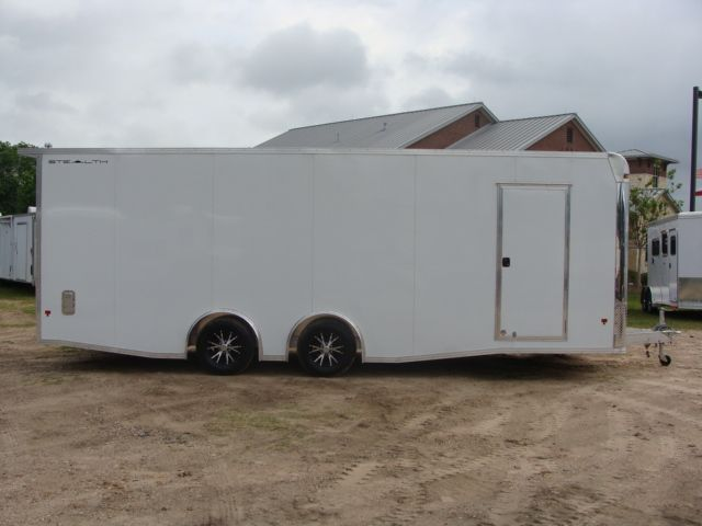 2019 Cargo Pro Stealth 24' Enclosed Car Trailer CONROE, TX 34