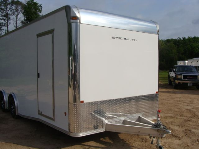 2019 Cargo Pro Stealth 24' Enclosed Car Trailer CONROE, TX 2