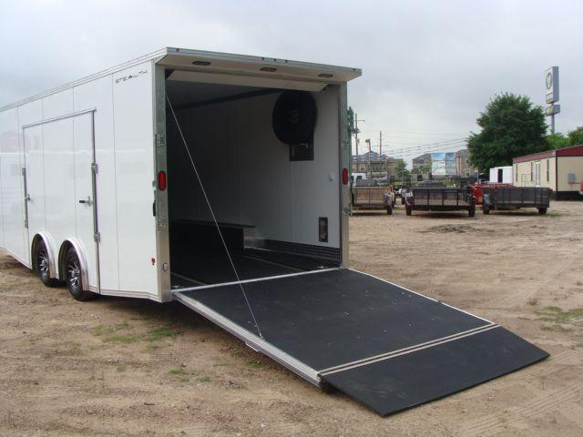 2019 Cargo Pro Stealth 24' Enclosed Car Trailer CONROE, TX 13