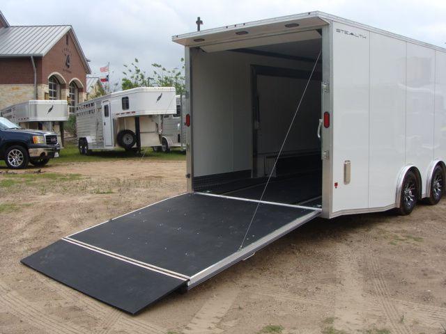 2019 Cargo Pro Stealth 24' Enclosed Car Trailer CONROE, TX 30