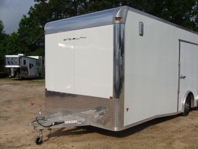 2019 Cargo Pro Stealth 24' Enclosed Car Trailer CONROE, TX 4