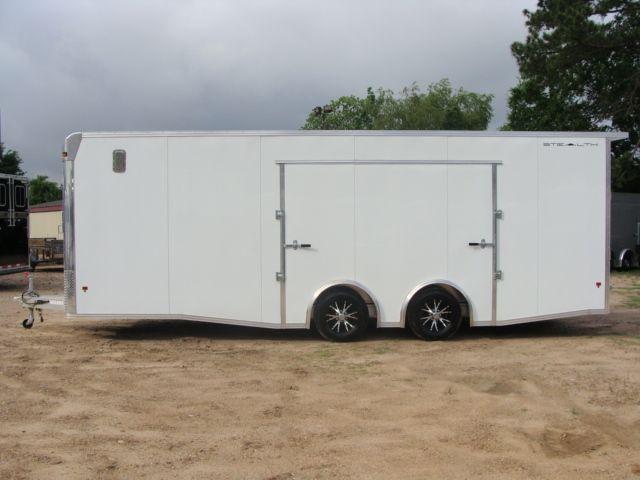 2019 Cargo Pro Stealth 24' Enclosed Car Trailer CONROE, TX 7