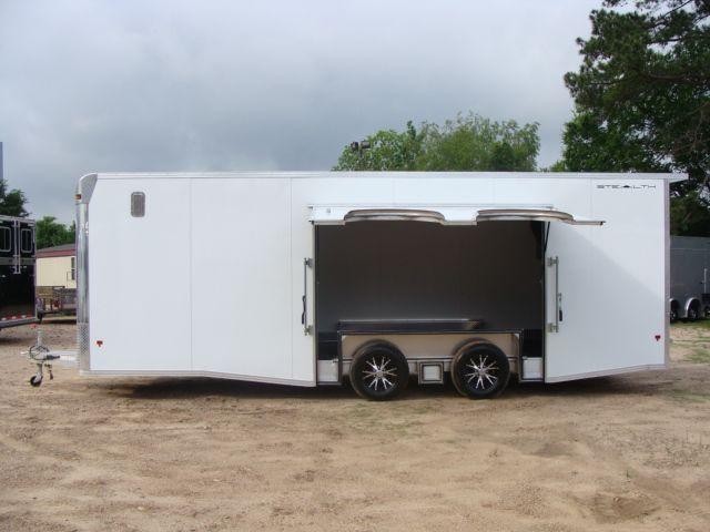 2019 Cargo Pro Stealth 24' Enclosed Car Trailer CONROE, TX 8