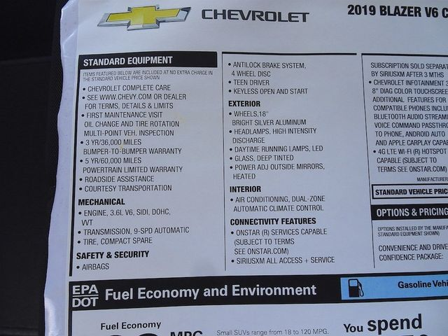 2019 Chevrolet Blazer Base Madison, NC 49