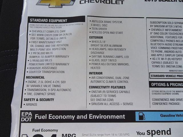 2019 Chevrolet Blazer Base Madison, NC 48