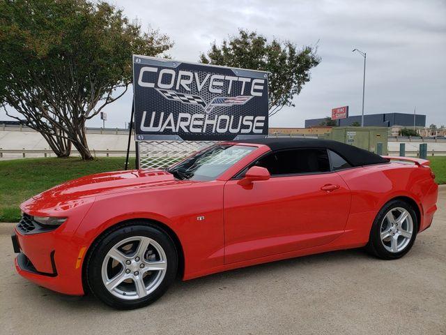 2019 Chevrolet Camaro Convertible 1LT, Auto, NAV, Alloy Wheels Only 27k in Dallas, Texas 75220