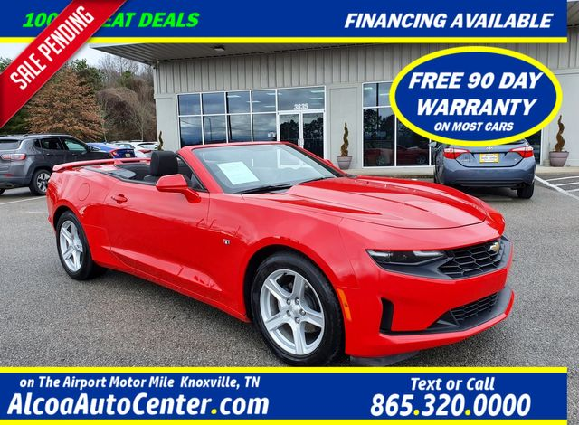 2019 Chevrolet Camaro 1LT 3.6L V6 Power Convertible Top