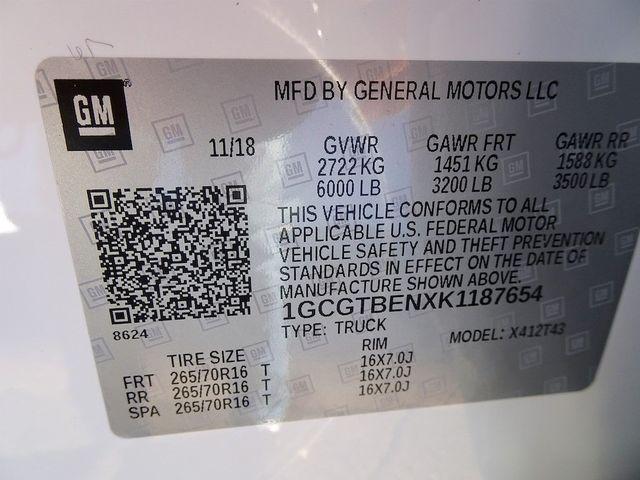 2019 Chevrolet Colorado 4WD Work Truck Madison, NC 52