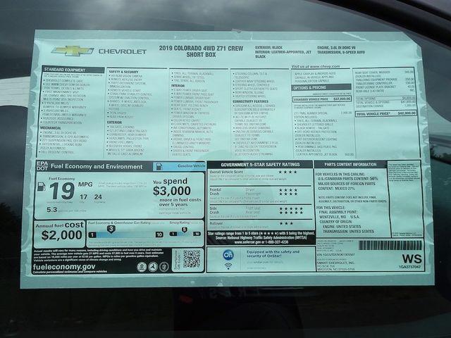 2019 Chevrolet Colorado 4WD Z71 Madison, NC 50