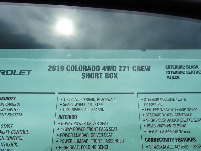 2019 Chevrolet Colorado 4WD Z71 Madison, NC 51