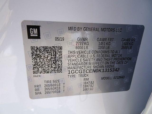 2019 Chevrolet Colorado 4WD LT Madison, NC 56