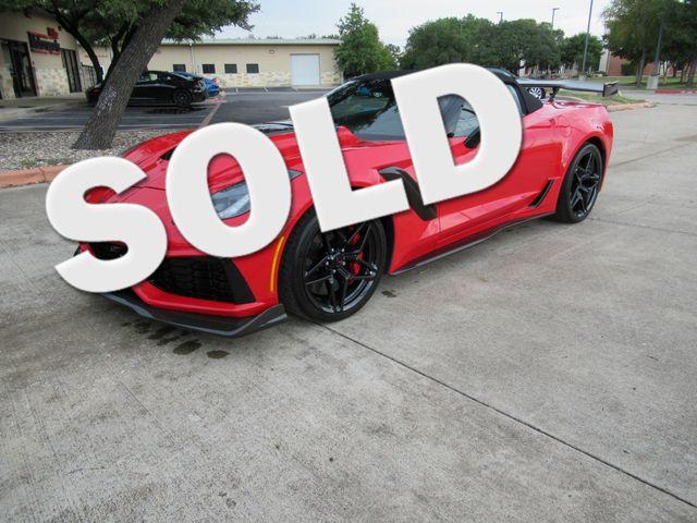 2019 Chevrolet Corvette ZR1 3ZR Austin , Texas