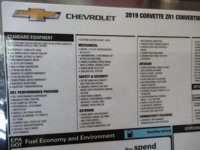 2019 Chevrolet Corvette ZR1 3ZR Austin , Texas 27