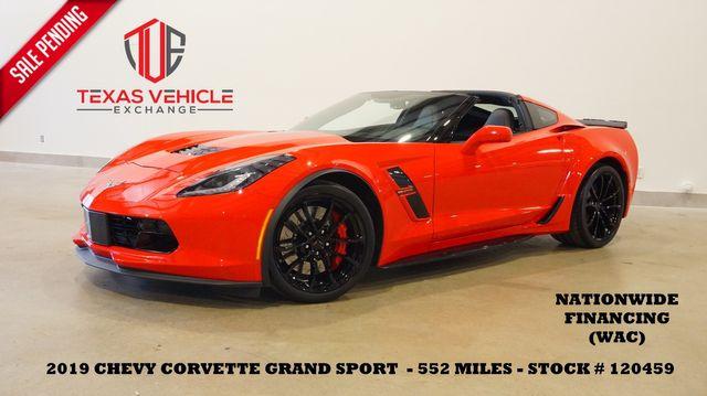 2019 Chevrolet Corvette Grand Sport 2LT AUTO,HUD,NAV,F.CAM,552 MILES in Carrollton, TX 75006