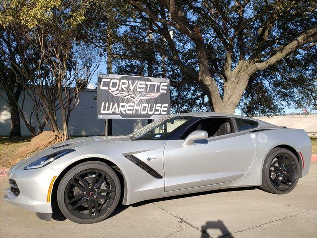 2019 Chevrolet Corvette Coupe Auto, NAV, NPP, UQT, Black Wheels, Only 1k