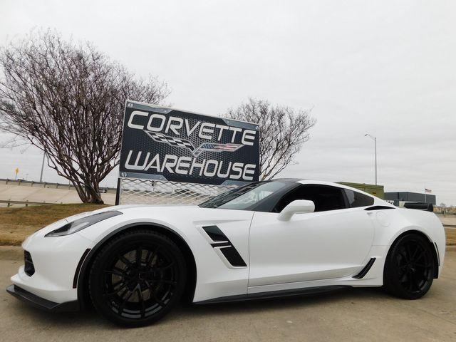 2019 Chevrolet Corvette Grand Sport Auto, Carbon, NPP, Black Wheels 16k