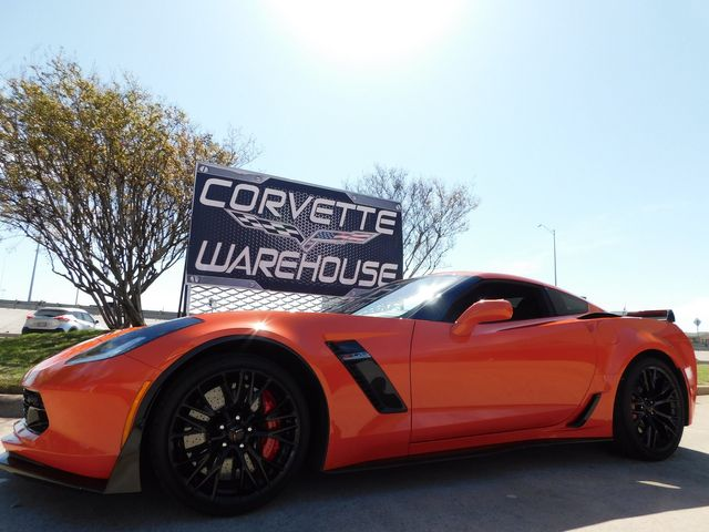 2019 Chevrolet Corvette Z06 3LZ, Z07, NAV, Auto, Sebring Orange 13k