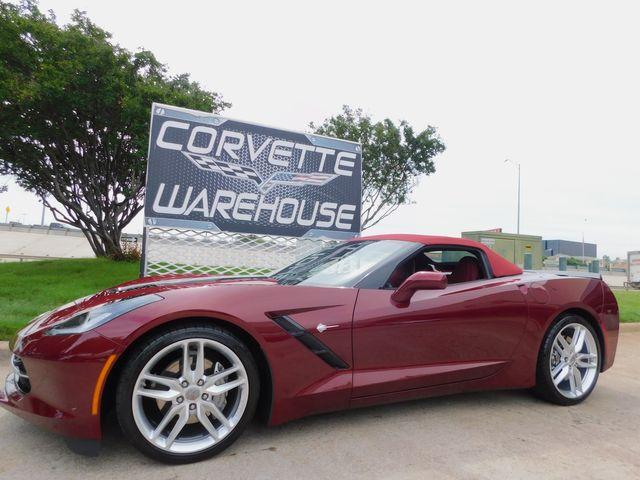 2019 Chevrolet Corvette CONV 3LT, FE2, NAV, NPP, PDR, Spice Red 6k