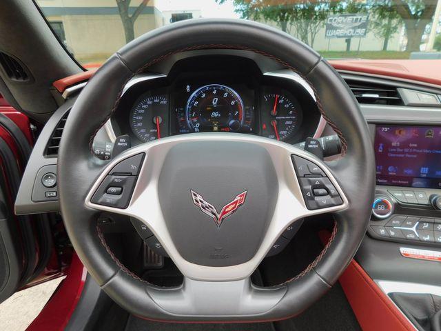 2019 Chevrolet Corvette CONV 3LT, FE2, NAV, NPP, PDR, Spice Red 6k in Dallas, Texas 75220