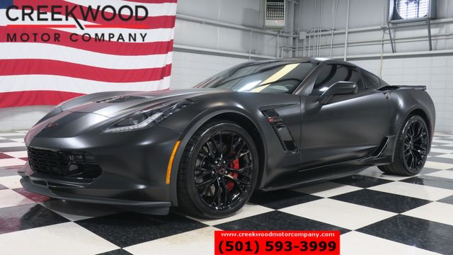 2019 Chevrolet Corvette Z06 3LZ Black Auto 1 Owner Leather Nav 800 Miles