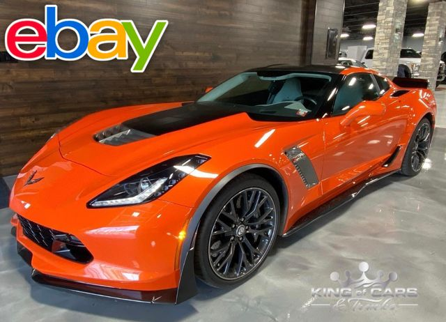 2019 Chevrolet Corvette Z06 3LZ SEBRING ORANGE CARBON PACKAGE ONLY 6K MILES
