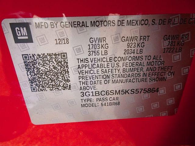2019 Chevrolet Cruze LS Madison, NC 51