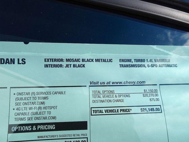 2019 Chevrolet Cruze LS Madison, NC 45