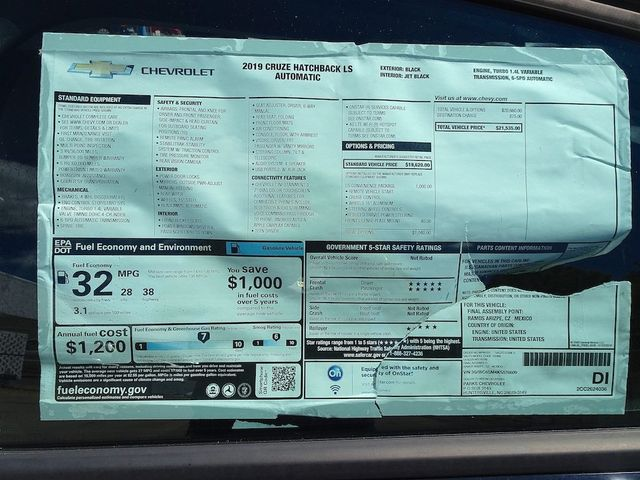 2019 Chevrolet Cruze LS Madison, NC 41