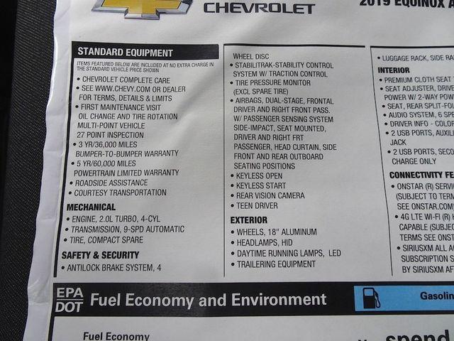 2019 Chevrolet Equinox LT Madison, NC 50