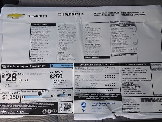 2019 Chevrolet Equinox LS Madison, NC 44