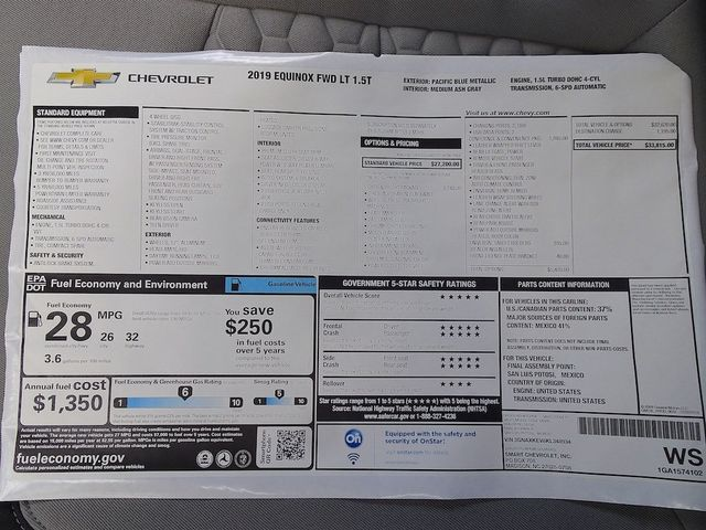 2019 Chevrolet Equinox LT Madison, NC 47