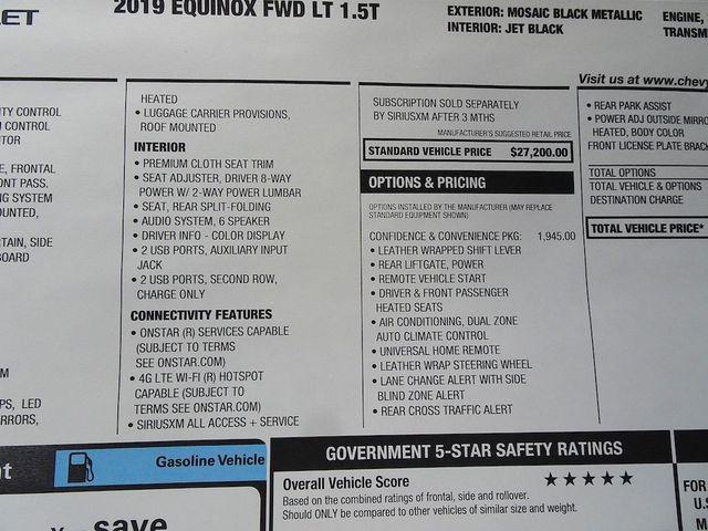 2019 Chevrolet Equinox LT Madison, NC 44