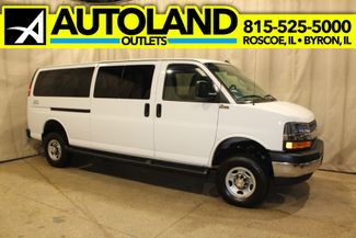 2019 Chevrolet Quigley 4x4 Express 12 Passenger 3500 QUIGLEY 4X4 LT in Roscoe, IL 61073