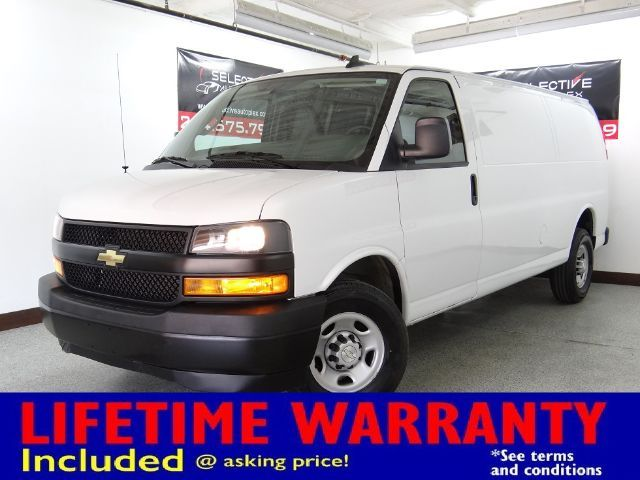 2019 Chevrolet Express Cargo Van 2500 Cargo Extended, LEATHER SEATS, BACKUP CAM
