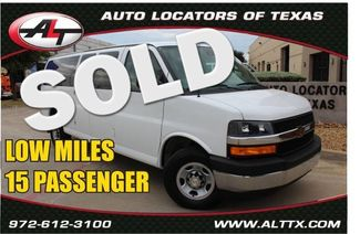 2019 Chevrolet Express Passenger LT   Plano, TX   Consign My Vehicle in  TX