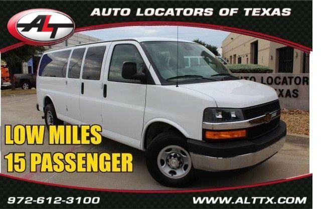 2019 Chevrolet Express Passenger LT in Plano, TX 75093