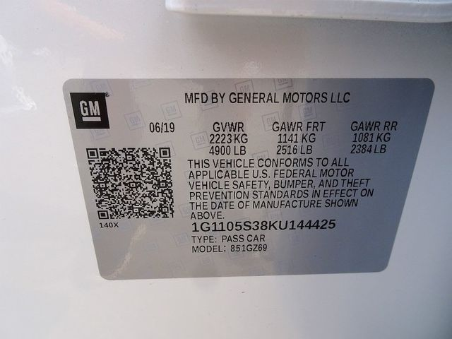2019 Chevrolet Impala Premier Madison, NC 55