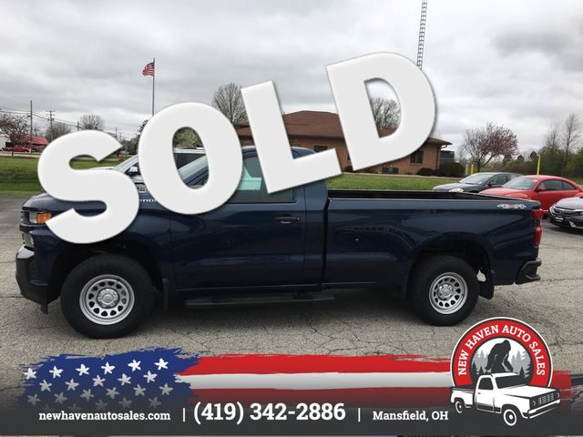2019 Chevrolet Silverado 1500 4X4 Work Truck