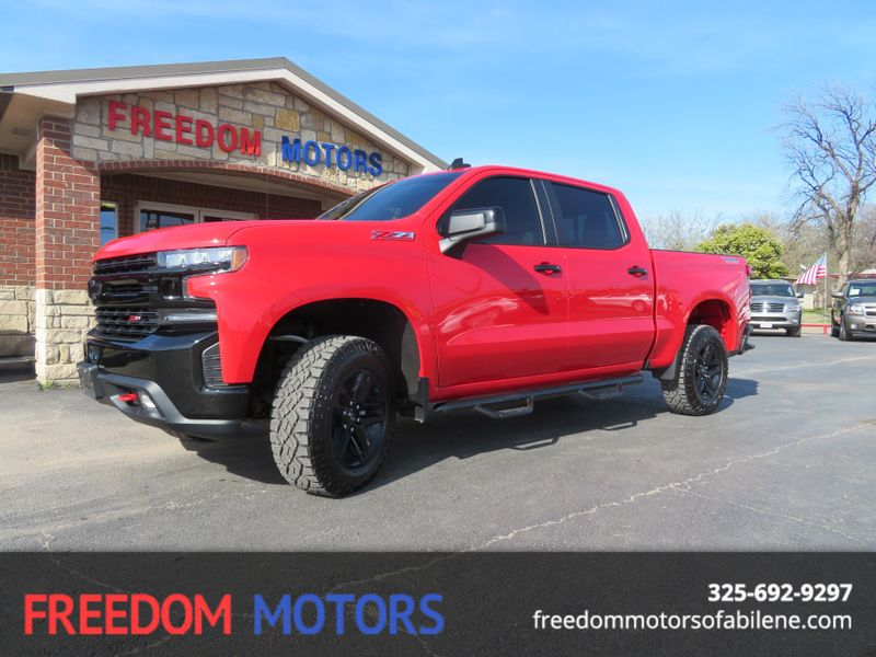 2019 Chevrolet Silverado 1500 LT Trail Boss 4x4 | Abilene, Texas | Freedom Motors  in Abilene Texas