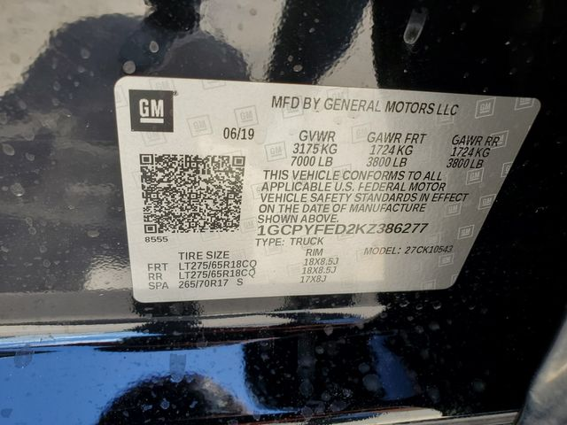 2019 Chevrolet Silverado 1500 LT Trail Boss in Brownsville, TX 78521