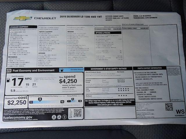 2019 Chevrolet Silverado 1500 LD Work Truck Madison, NC 43