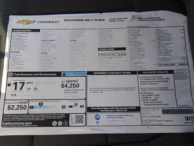 2019 Chevrolet Silverado 1500 LT Trail Boss Madison, NC 51