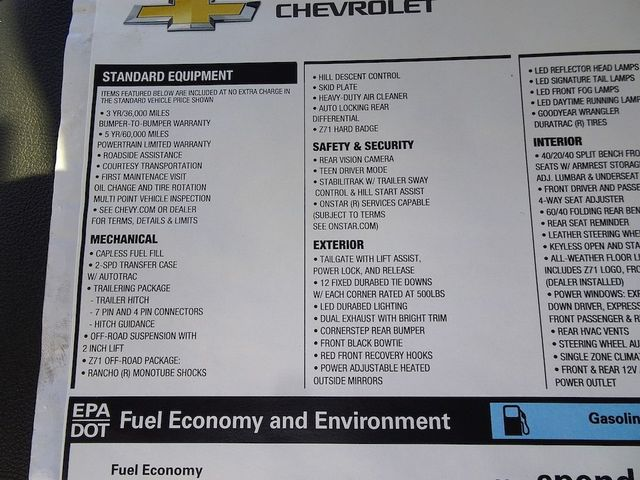 2019 Chevrolet Silverado 1500 LT Trail Boss Madison, NC 54