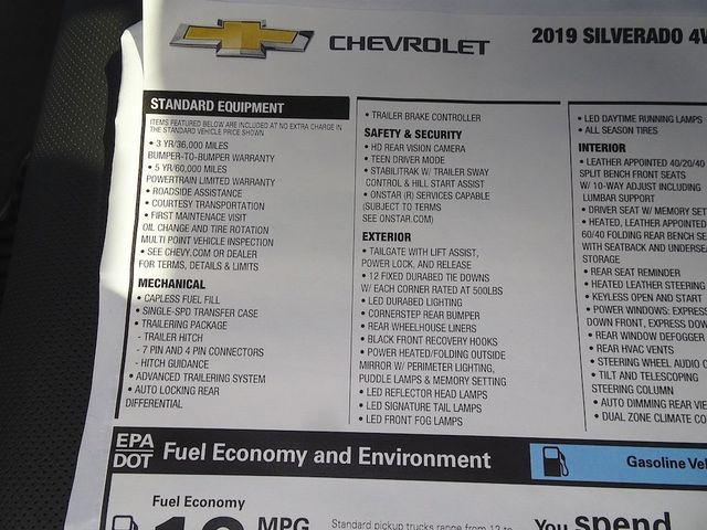 2019 Chevrolet Silverado 1500 LTZ Madison, NC 52