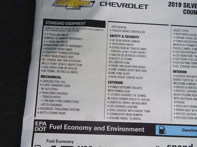 2019 Chevrolet Silverado 1500 High Country Madison, NC 55